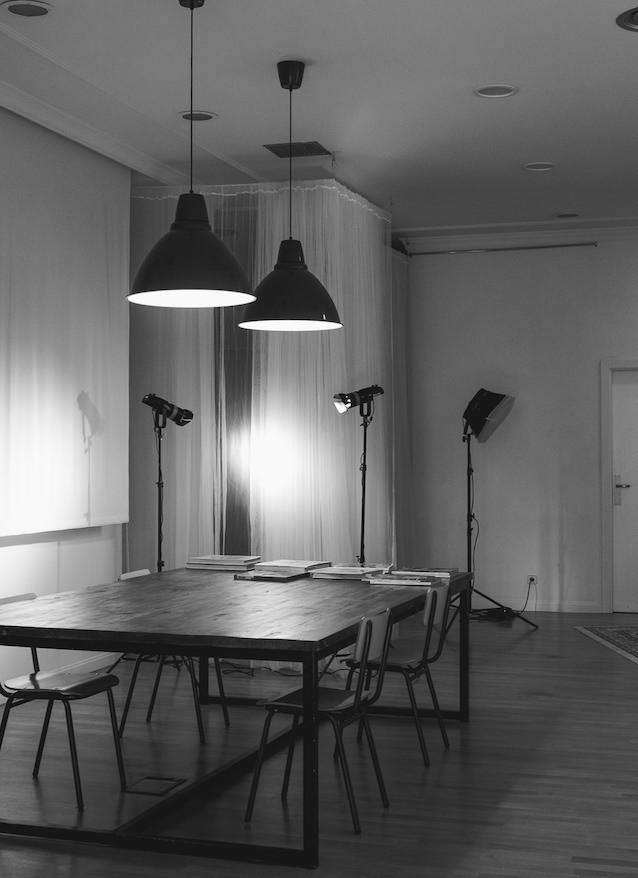 Silvia et Guy Studio - El salón